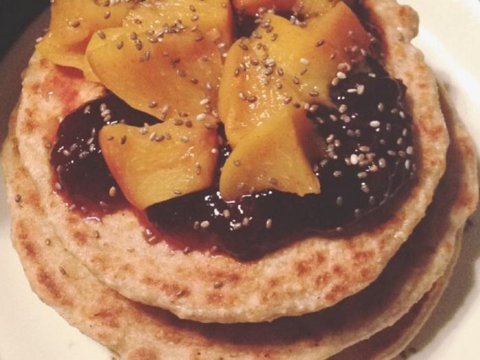 La vida es más bonita si desayunas panquecas(pancakes)
